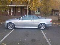 BMW 330CI M SPORT CONVERTIBLE AUTO PX 530D 525D 330D 320D AUDI A4 A6 TDI MERCEDES E220 CDI SAAB GTI
