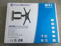 Invision tilt and swivel mount