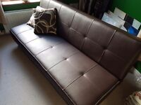 Sofa bed - rarely used - as new