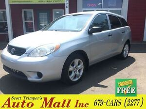 2007 Toyota Matrix Wagon with Alum Wheels & snow tires!