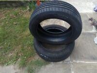 2x Tyres 205/55 R17 95V VREDESTEIN SPORTRAC 5