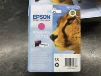 EPSON T0713 Magenta Ink Cartridge - BRAND NEW