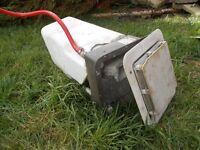 caravan camper van horsebox water heater, oven and sink