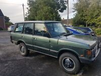 Range Rover Classic Vogue EFI 3.5 V8 manual