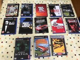 PS2 PlayStation games