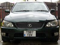1999 Lexus IS200 auto, petrol, saloon