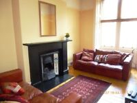 Well-presented first floor flat in quiet residential area of Hillside