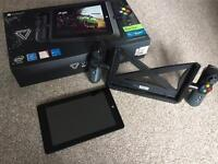 Linx Vision 8 Windows 10 X7 gaming computer tablet boxed with controller. Ideal for retro emulation