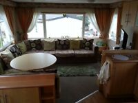 2 bedroom caravan for hire, newton hall holiday park, blackpool