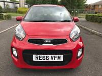 2016 Kia Picanto 1.0 1 Air 5dr Red Only 1k Miles