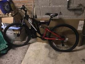 Brand new unisex 26ins muddy fox mountain bike