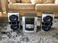 SONY Hi Fi Compact Disc / Deck / Receiver - HCD-RG290. 185 Watts Output