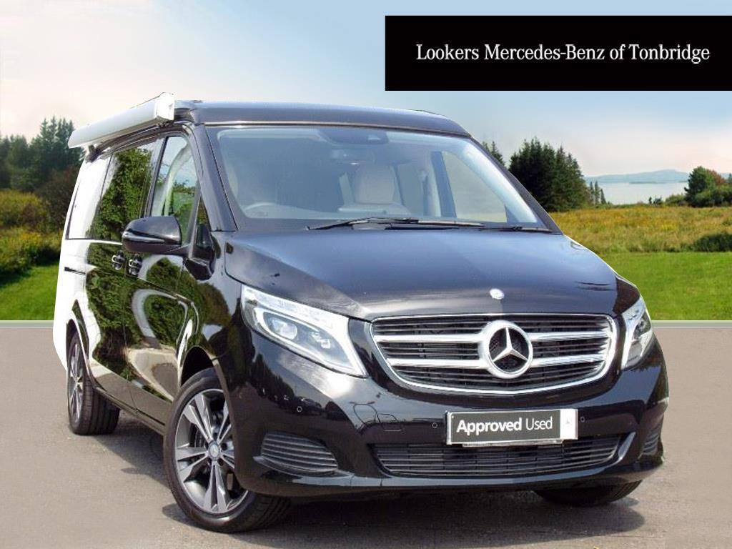 mercedes benz v class v 220 d sport marco polo black. Black Bedroom Furniture Sets. Home Design Ideas