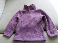 Fleece lined top size 2-3yrs but small