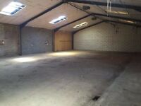 Storage unit/workshop for rent 3600 sq ft integral office