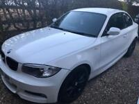 BMW 1 Series 1 118d M Sport 2dr Coupe In Immaculate White