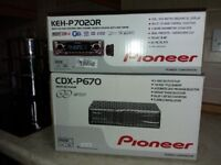 Pioneer Radio Cassette with MP3