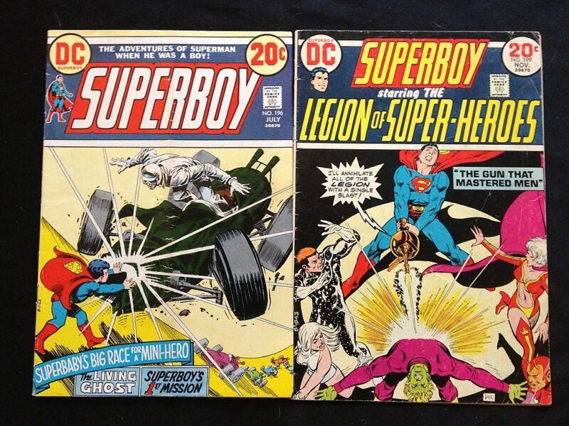 SUPERBOY #196,199