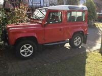 Landrover 90 with 200 td i conversion fitted