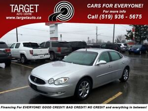 2005 Buick Allure CXS, Loaded; Leather, Roof, Alloys and More !!