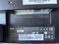 AOC LCD monitor