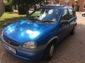Vauhhall Corsa Breeze DIESEL Verry rere all on the button