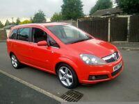 Vauxhall Zafira 1.9 CDTI SRI 150bhp FSH Excellent Condition
