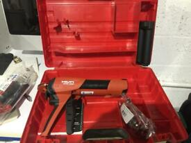 Hilti HDM 330 with three spare cartridges NEW