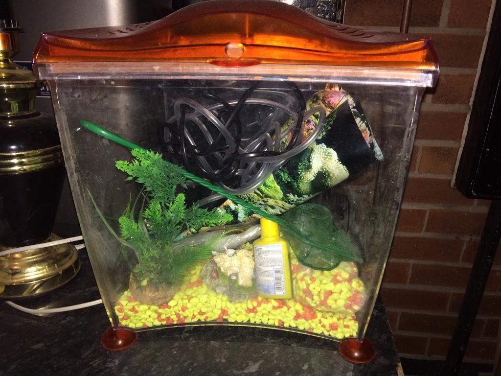 Freshwater aquarium no fish - Small Fish Tank Full Tropical Set Up No Fish
