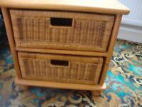 2 drawer storage ex cond
