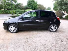 2006 RENAULT CLIO DYNAMIQUE 1.6 PETROL, SERVICE HISTORY, 1 YEAR MOT