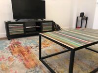 Large Multicolor Living Room Rug