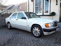 Mercedes 190E 2.0 Auto – 1992 – White - 12 Months MOT