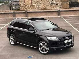 "AUDI Q7 3.0 TDI S LINE AUTO + FULLY LOADED + XENONS + PAN ROOF + 21"" ALLOYS + LEATHER"
