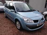 2007 RENAULT SCENIC DYNAMIQUE 1.6 16v ONLY 64,000 MILES!! 1 YEAR MOT!!