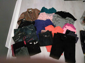 Women's clothes bundle (Sizes 8-12 Various)