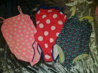 4 swimming costumes 5-6 years