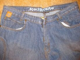RED ROUTE Motorbike Jeans for Men