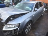 Breaking for spares AUDI A6 C6 2.7 TDI 2008 S LINE