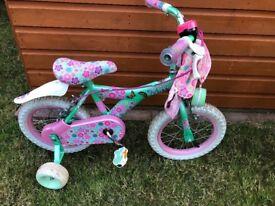 "Raleigh Kool Miss 16"" Girl's Bike"