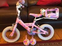 Girls bike 3-5 years
