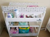 Baby changing table in good condition