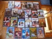 22 BRAND NEW SEALED DVDs - VARIOUS TITLES