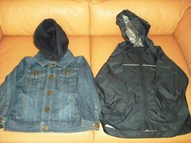 Kids Jackets. Age 18-24 months. Just £2 each.