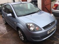 FORD FIESTA 1.2 SILVER 3 DOOR 07 PLATE 64,000 MILES 10 STAMPS