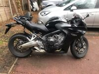 Honda CBR650f Sports Exhaust Full Service History 2 Owners