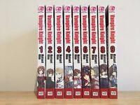 Vampire Knight Volumes 1-9