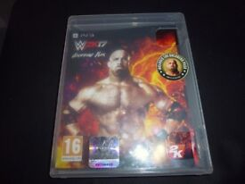 PS3 W2k17 (game disc is mint)