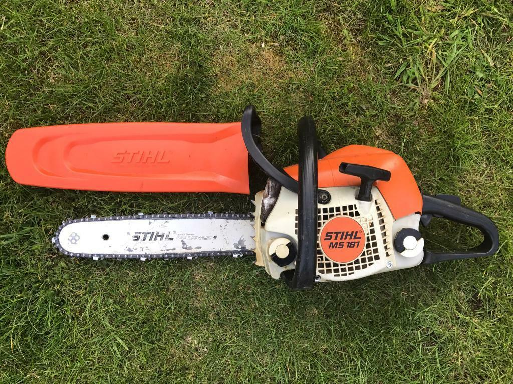 How to put a new chain on a stihl chainsaw gallery wiring table stihl ms181 petrol chainsaw stihl 14 bar and new chain in stihl ms181 petrol chainsaw stihl greentooth Gallery
