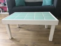 Duck Egg Tiled Coffee Table